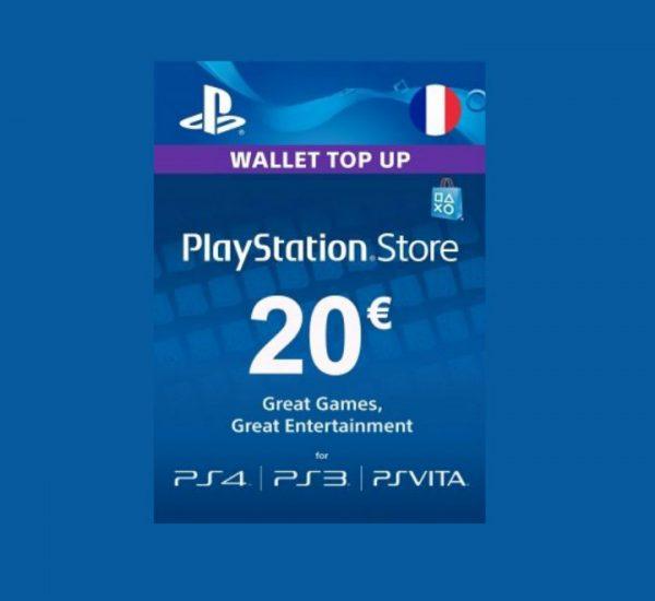 Carte Playstation Network 20€