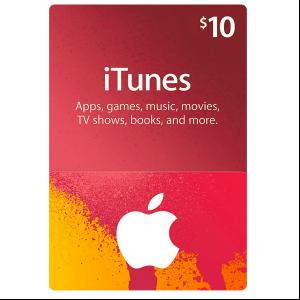 Carte Cadeau iTunes 10€
