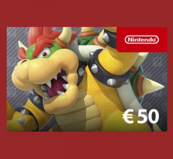 Nintendo eShop Card 50€