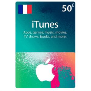 Carte Cadeau iTunes 50€