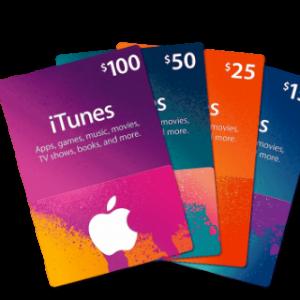 Cartes iTunes