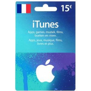 Carte Cadeau iTunes 15€