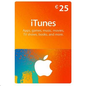 Carte Cadeau iTunes 25€