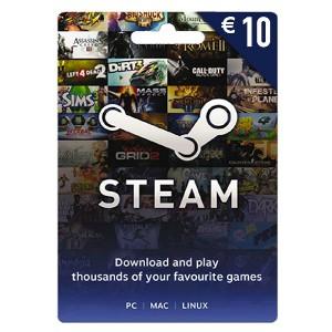 Carte Steam 10 euro