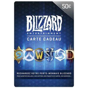 Carte Blizzard 50€ EU