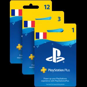 Abonnement Playstation Plus FR